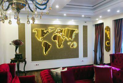 تابلو نقشه جهان